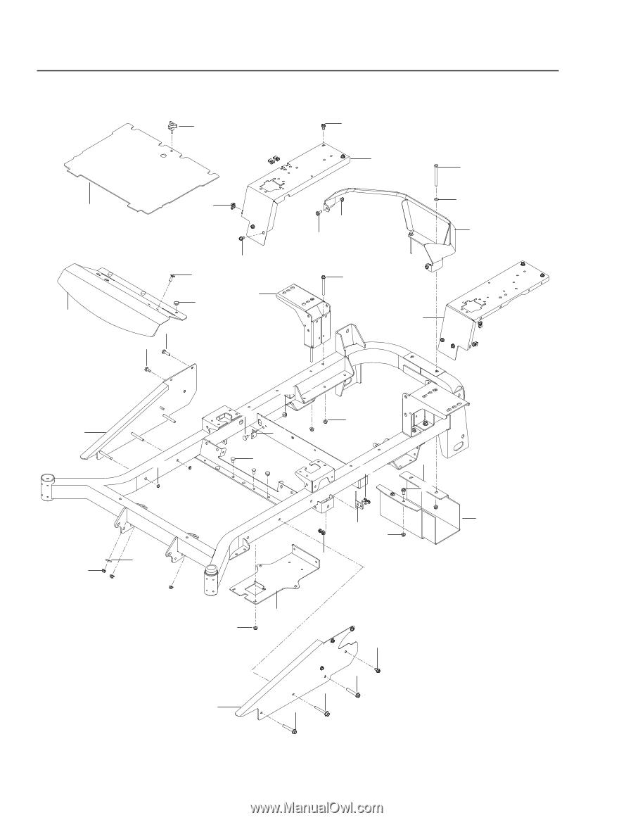 Husqvarna MZ 61   Parts Manual