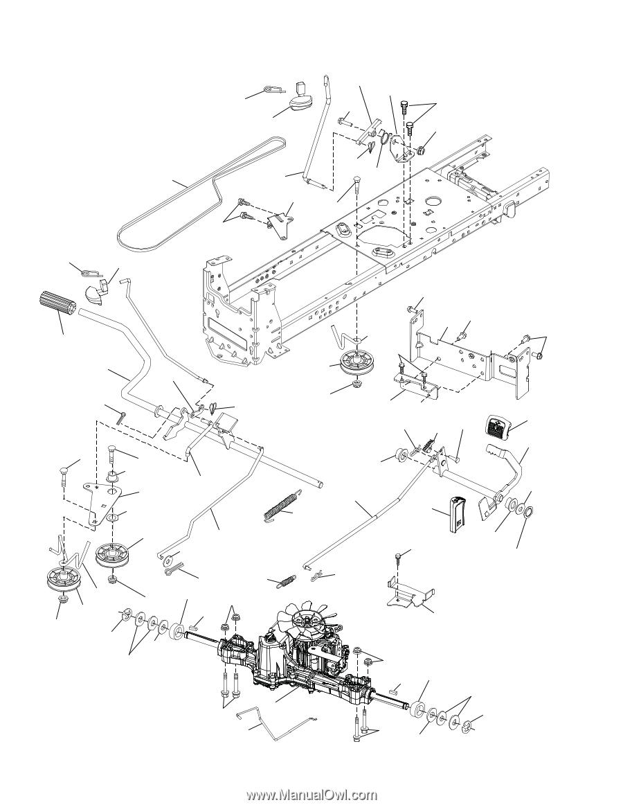 Husqvarna Yth21k46 Parts Manual