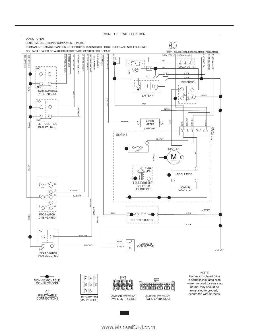 Wiring Diagram For Husqvarna Z254