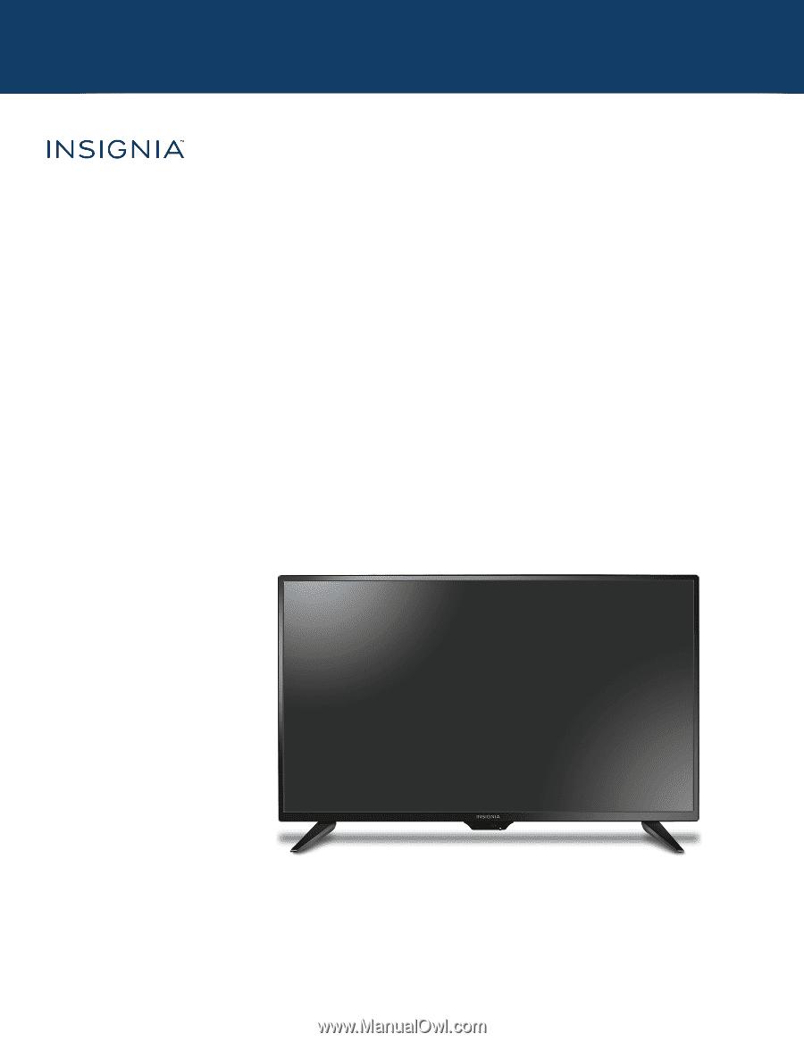 Insignia NS-32D310NA17   User Manual English