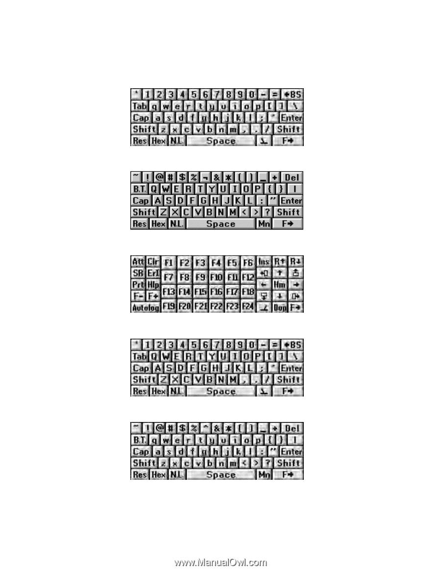 Intermec CK71   Intermec Terminal Emulator (ITE) User Guide - Page 170