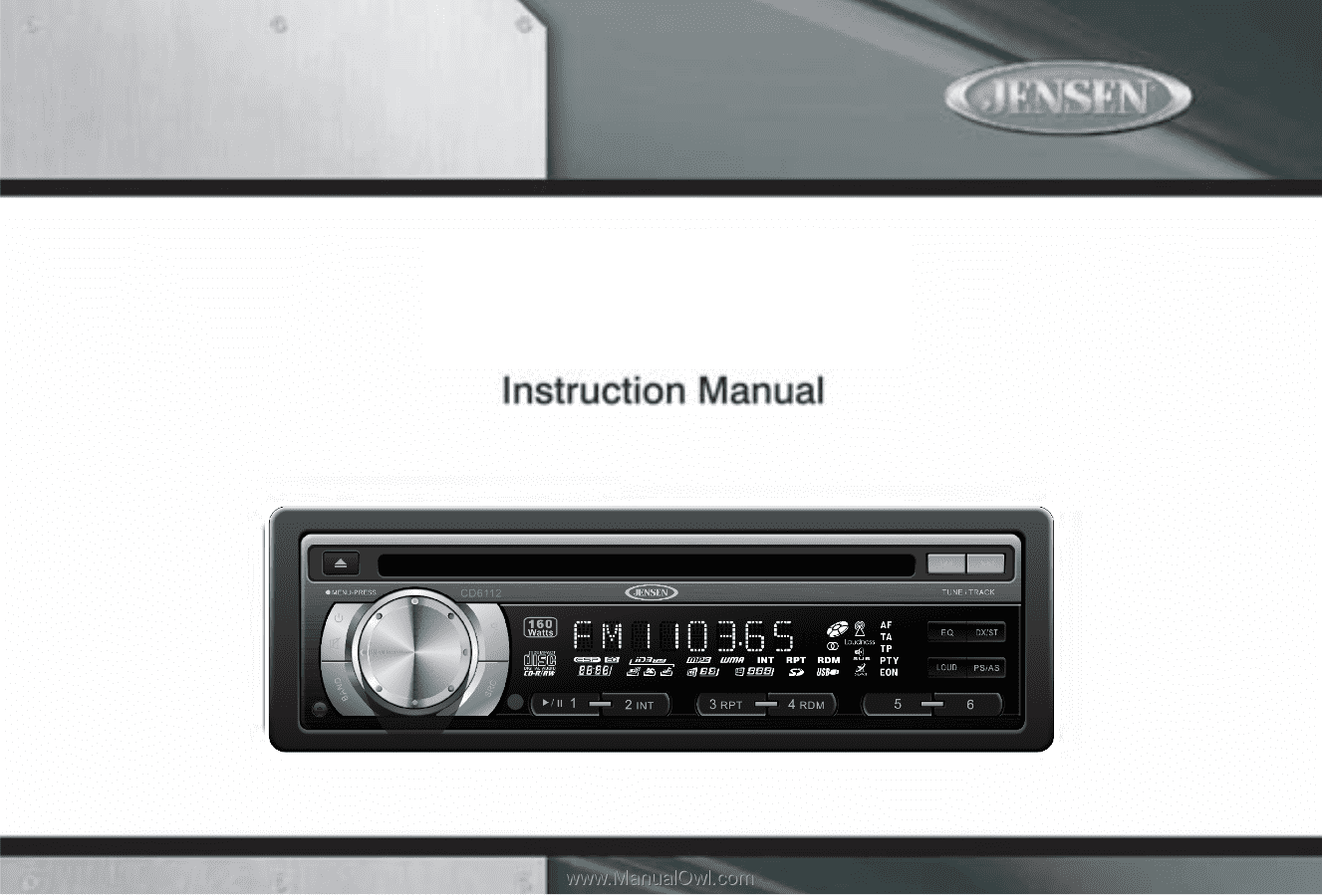 jensen cd6112 instruction manual rh manualowl com A House and a Diagram of Measurement Jensen Pin Wiring Diagrams 20