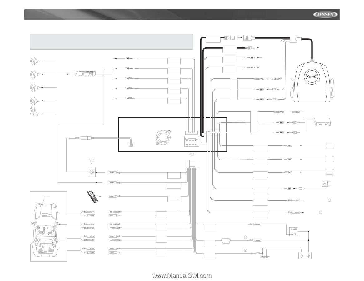 Jensen Vm9510 Wiring Diagram from www.manualowl.com