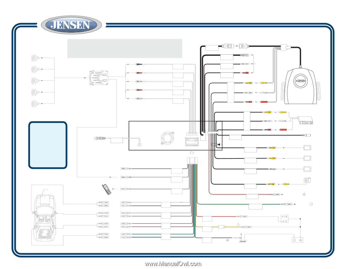 jensen vm9412 car wiring diagrams trusted wiring diagrams u2022 rh sivamuni com jensen rv stereo wiring diagram jensen touch screen radio wiring diagram