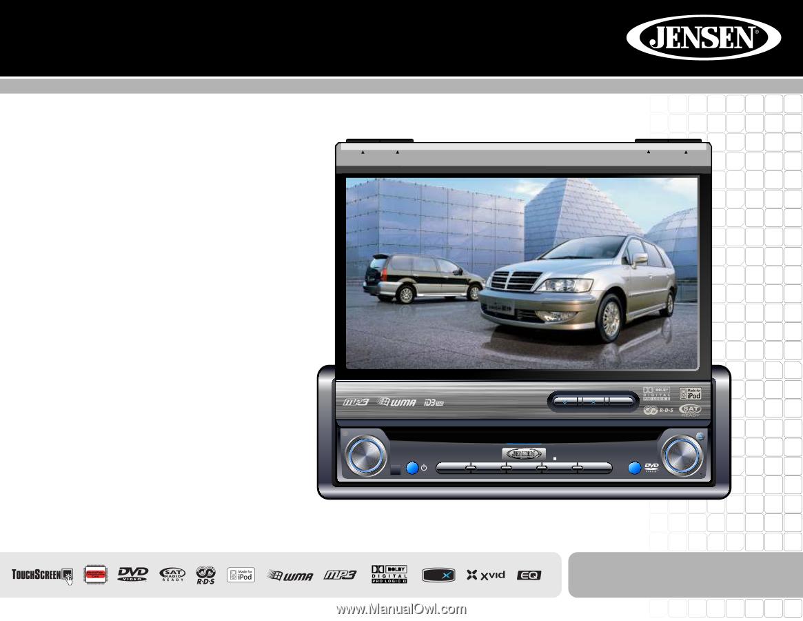 WRG-7963] Jensen Vm9412 Car Wiring Diagrams on