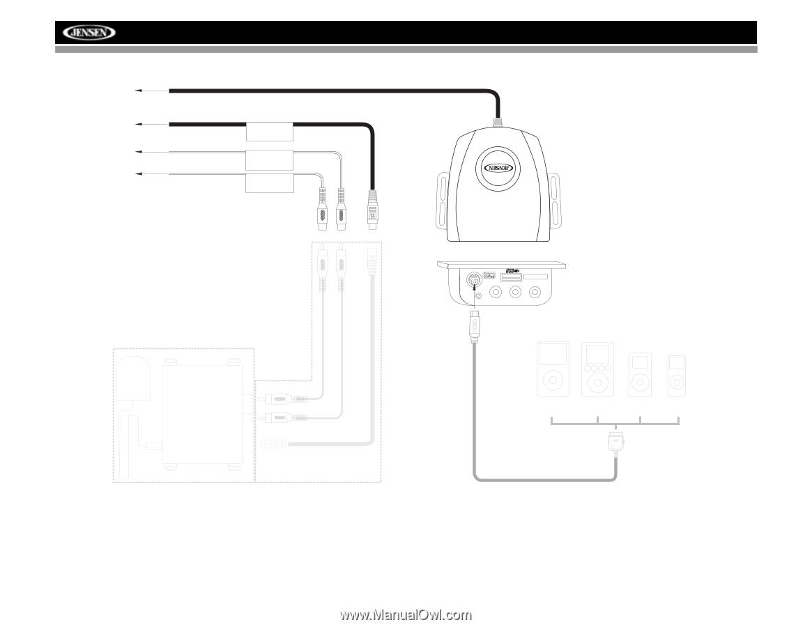 Jensen Vm9512 Wiring Diagram Detailed Schematics Accel Diagrams Operation Manual 74022 Ecm Wire