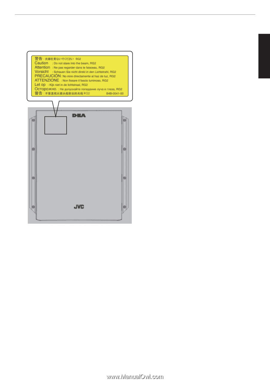 JVC DLA-X550R | Instruction Manual