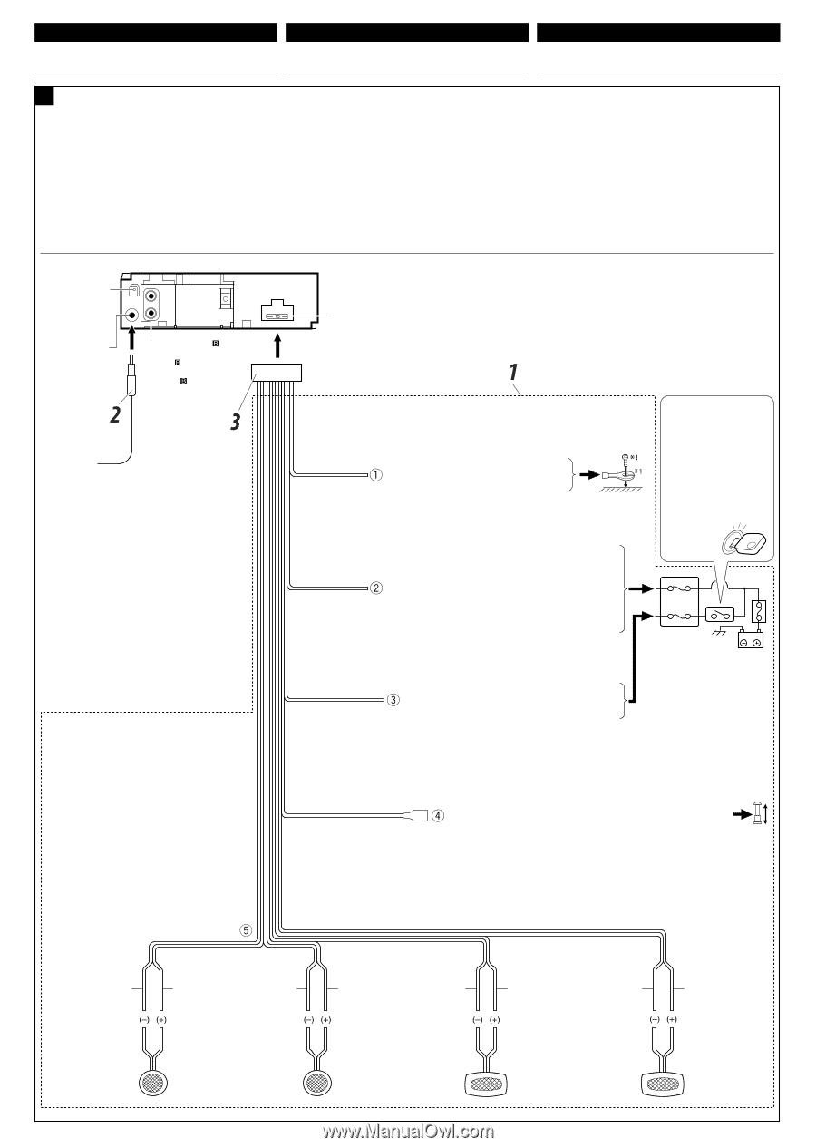 Jvc G220 Installation Manual Page 1 Kd Wiring Diagram 3