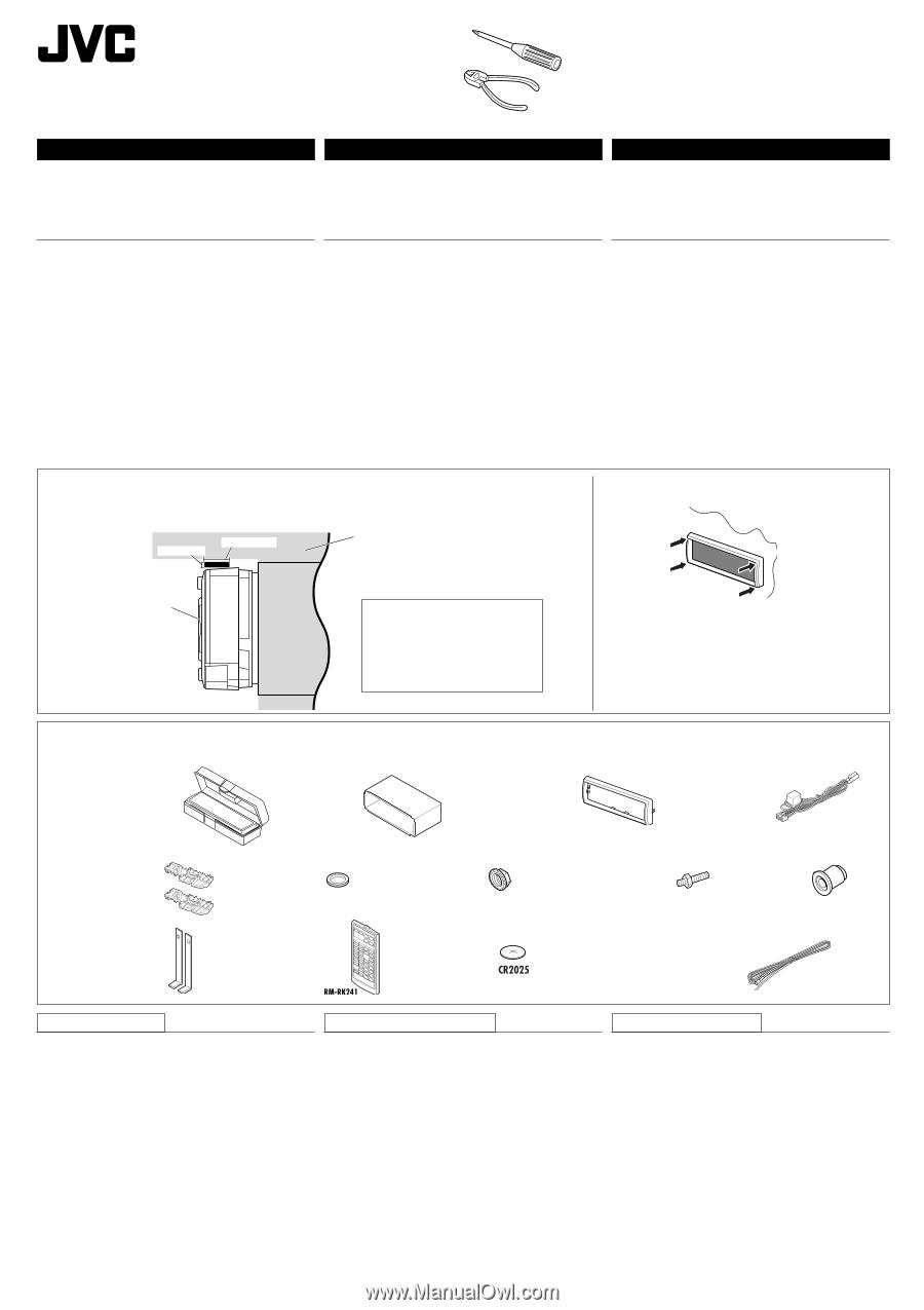 JVC KD AVX1 | Installation Manual Jvc Kd Avx Wiring Diagram on jvc kd r320 wiring harness, jvc kd car stereo wiring harness, jvc kd r330 wire diagram, jvc kd s26 wiring harness, jvc kd check wiring,