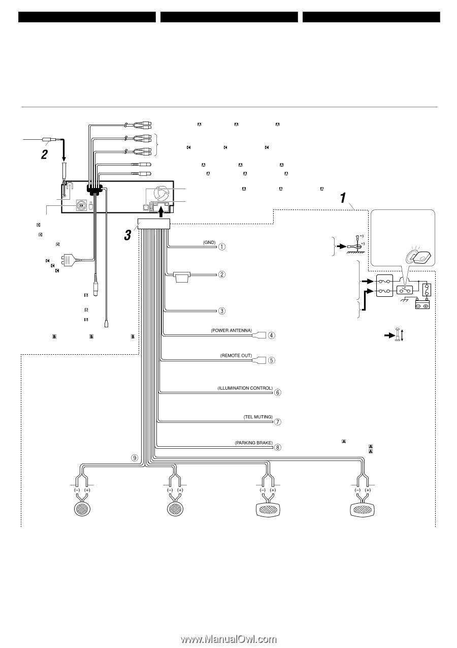 JVC KD AVX1 | Installation ManualManual Owl