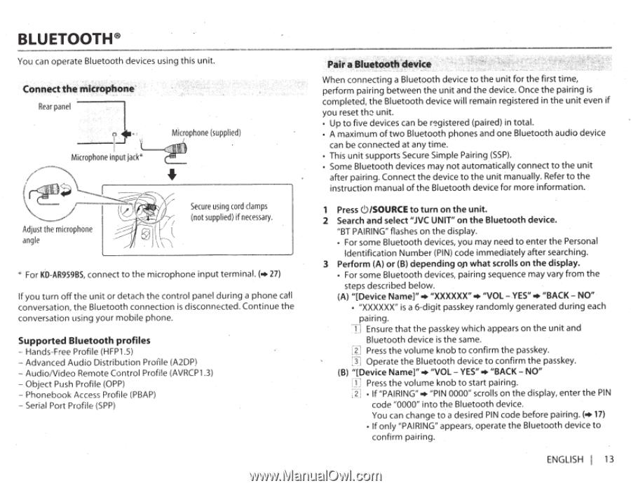 JVC KD-R950BT | Instruction Manual - Page 25