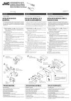 Jvc Kd S5050 Installation Manual