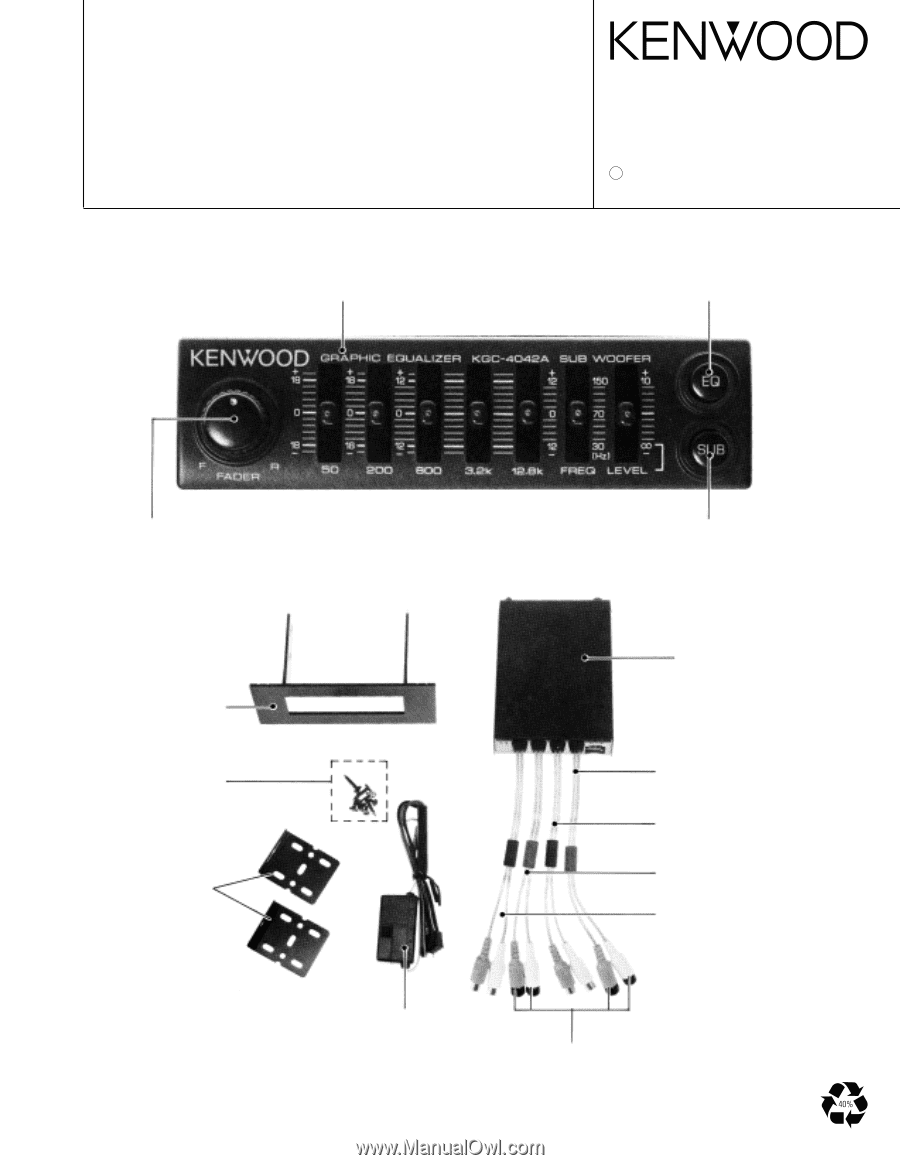 Wiring Diagram Kenwood Equalizer : Kenwood equalizer wiring diagram library