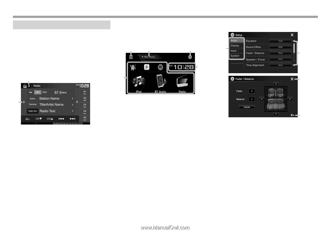 Kenwood DDX374BT | User Manual