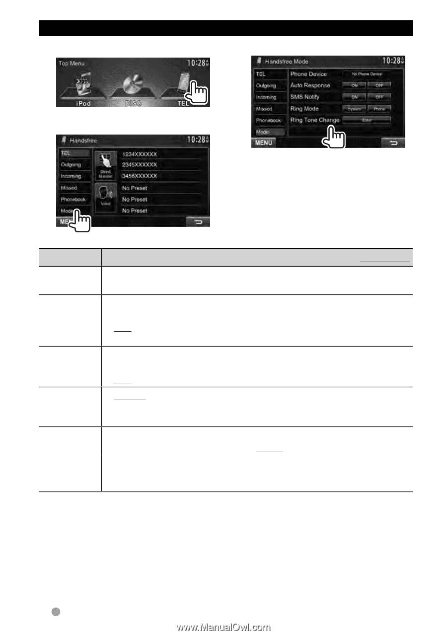 Kenwood DDX370 | Instruction Manual - Page 74