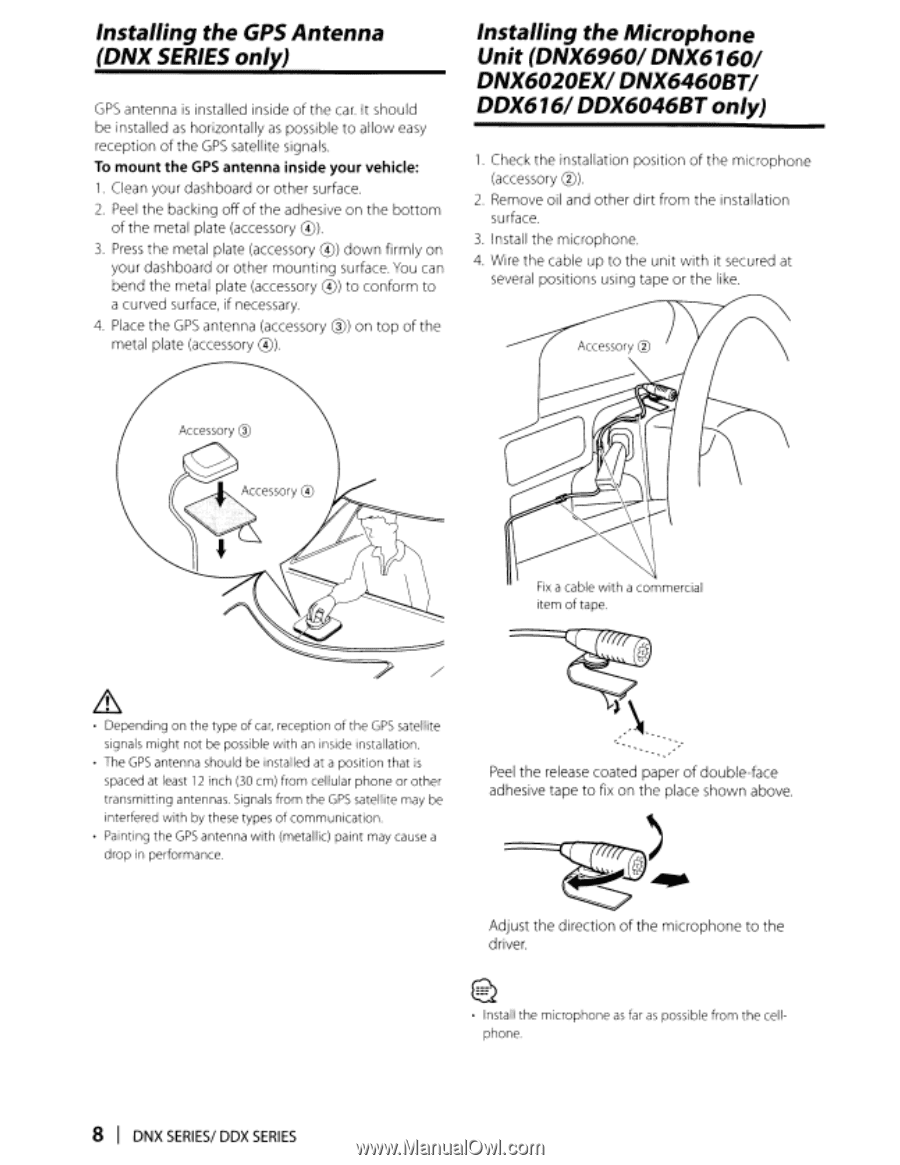 Kenwood DDX616 | Instruction Manual - Page 107