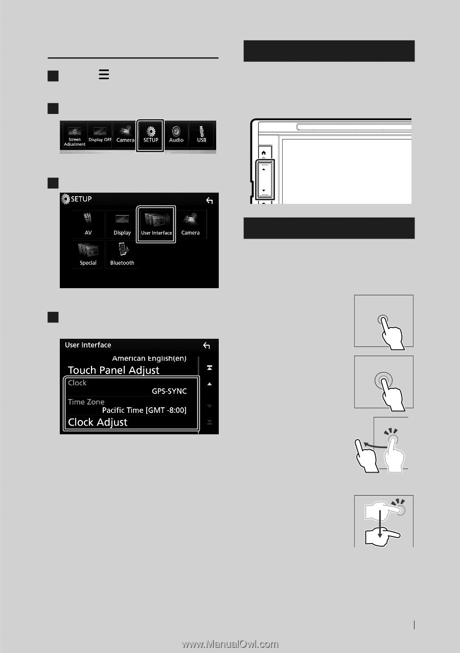 Kenwood DDX6704S | User Manual