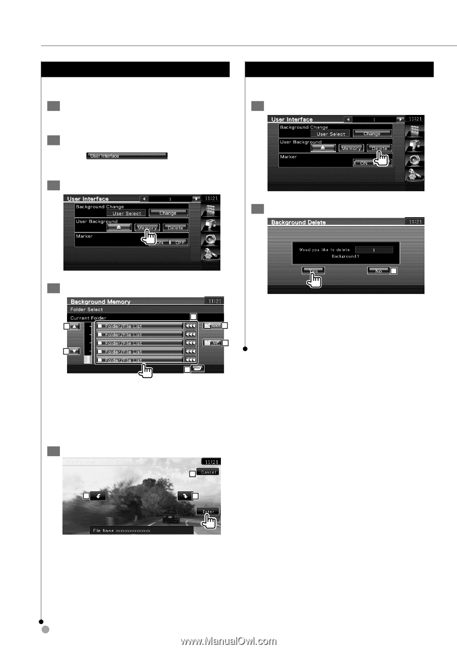 Kenwood DNX5140 | Instruction Manual - Page 68