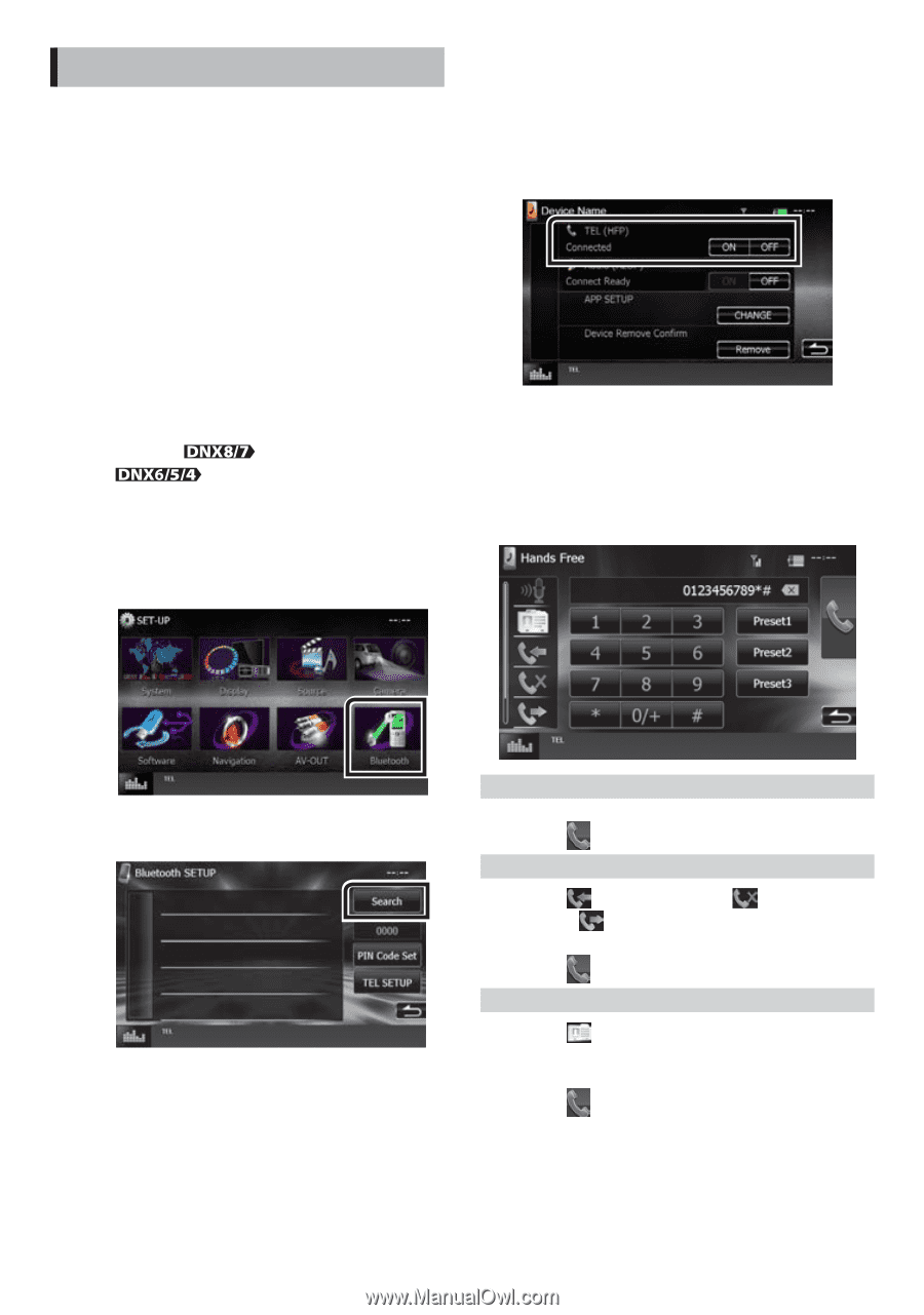 Kenwood DNX572BH | Quick Start Guide - Page 18