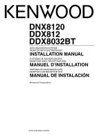 kenwood dnx8120 installation manual rh manualowl com Kenwood Shows Kenwood Shows