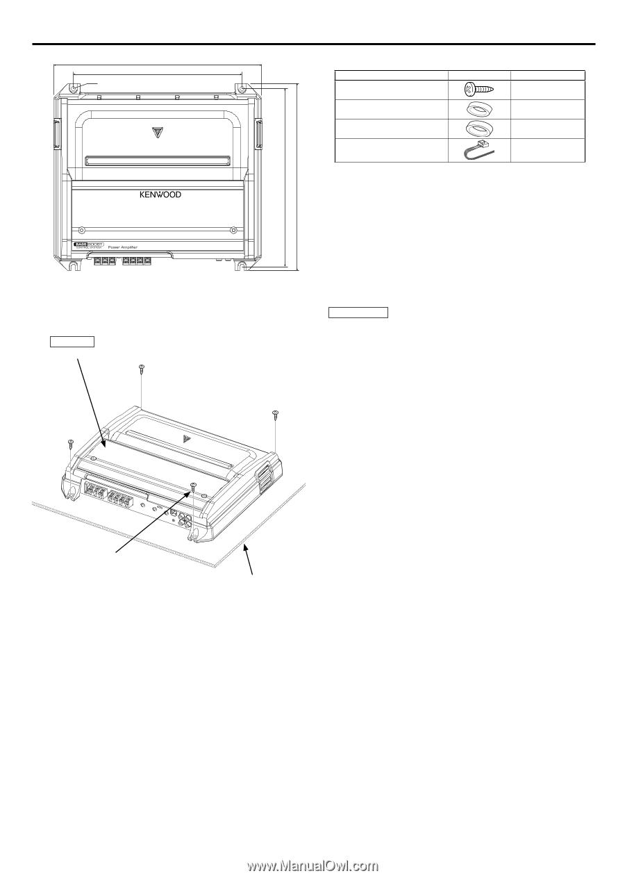 Kenwood Kac 8101d Wiring Diagram 32 Wiring Diagram Images Wiring Source ·  Fren ais 9 Installation