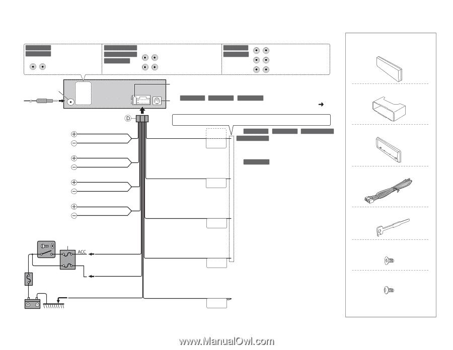 kenwood kdc 255u instruction manual page 15 jvc 16 pin wiring harness diagram kenwood cd changer wiring diagram in