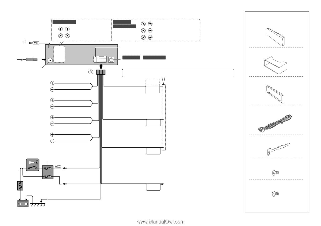 WRG-9867] Wiring Diagram Kenwood Excelon Kdc X597 on
