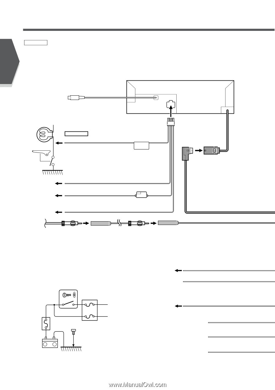 Kenwood Kvt 815 Manual Wiring Diagram 815dvd Harness Diagrams