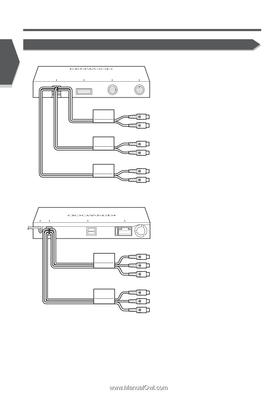 KENWOOD Screen 8 PIN Minitor Power WIRE Harness KVT 715DVD 815DVD
