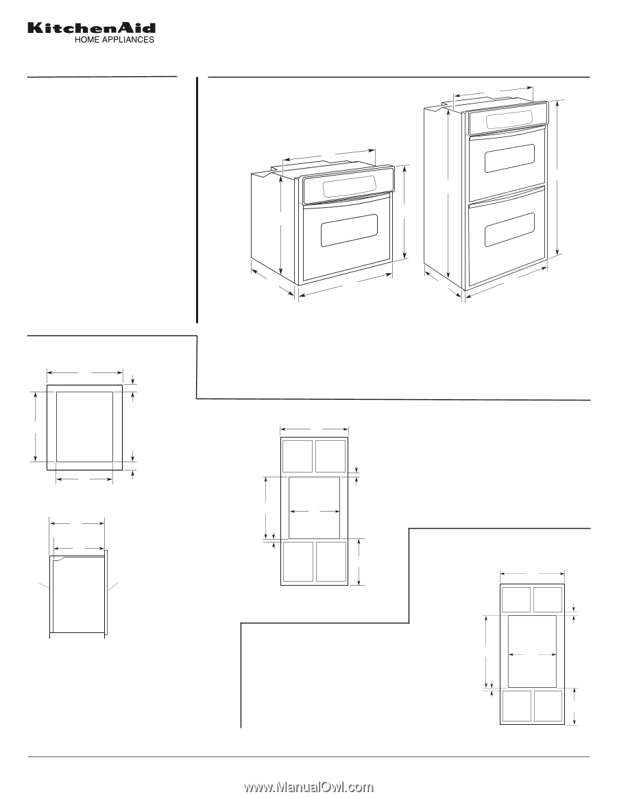 Kitchenaid Kebs207sss Dimension Guide