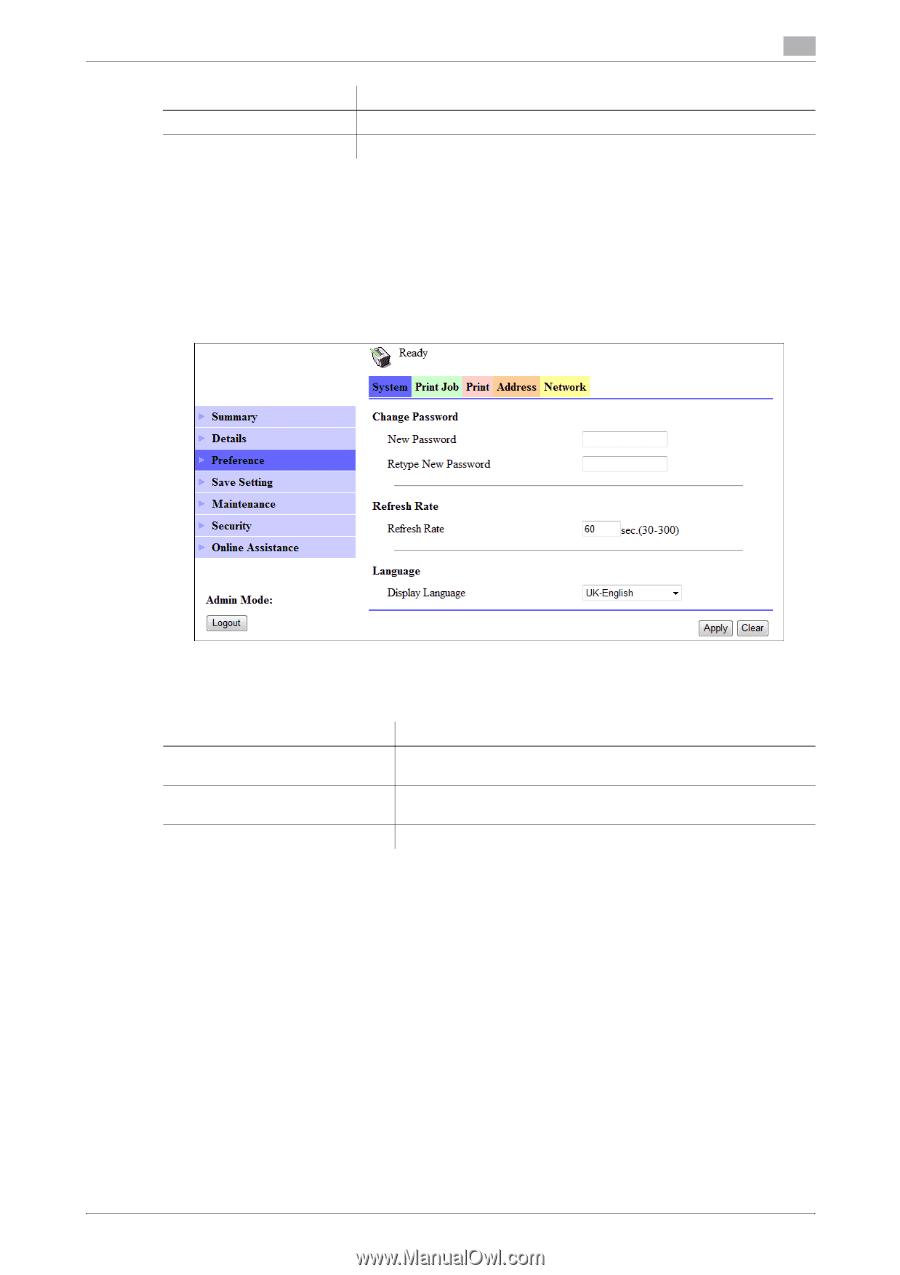 Konica Minolta bizhub 215   bizhub 215 Network Administration User