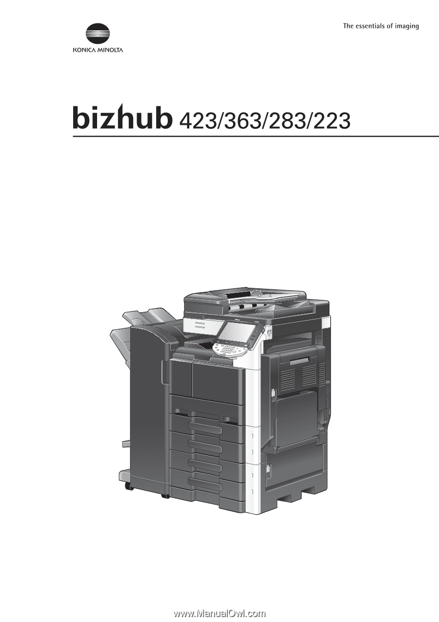 konica minolta bizhub 363 bizhub 423  363  283  223 network scan  fax  network fax konica minolta bizhub 363 user guide konica minolta bizhub 363 user manual scan