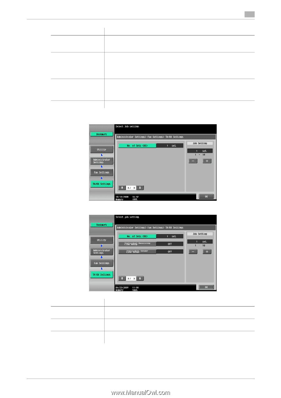 Bizhub 250 Fax Manual
