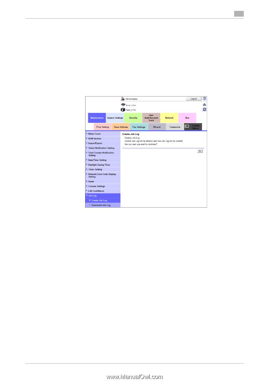Konica Minolta bizhub C308 | bizhub C368/C308/C258 Security