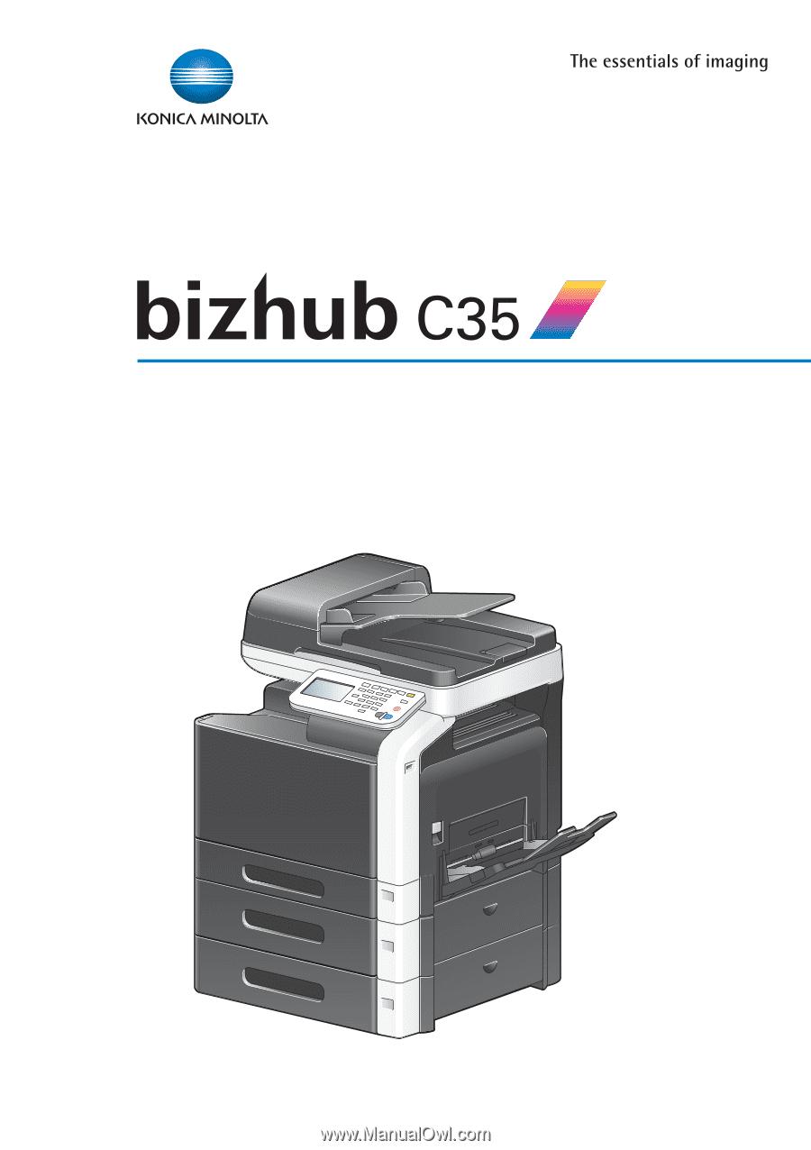 Konica 2223 Copier manual