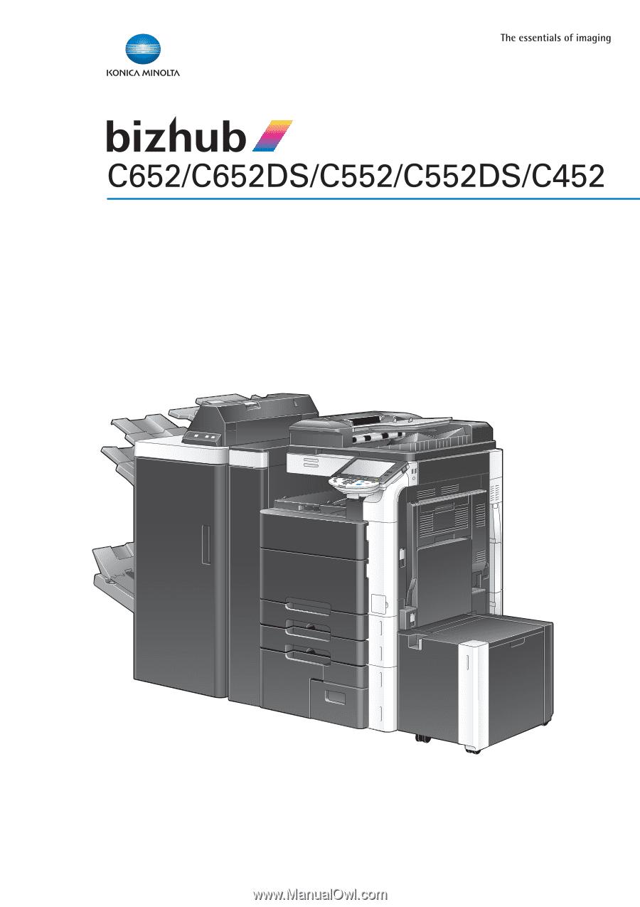 konica minolta bizhub c452 driver windows 7 32 bit