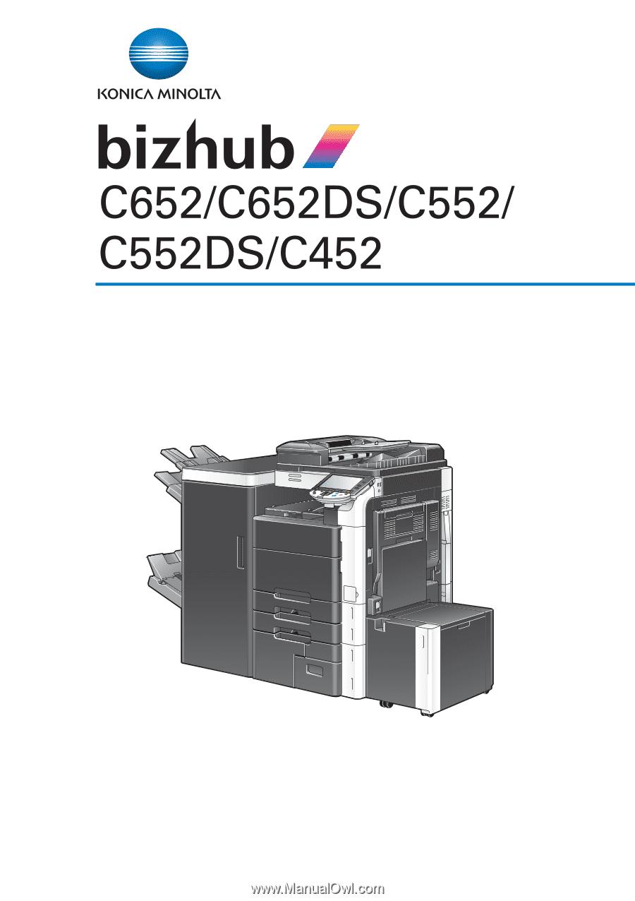 konica minolta bizhub c552 bizhub c452 c552 c552ds c652 c65ds rh manualowl com konica minolta bizhub c452 manual download konica minolta bizhub c452 user manual