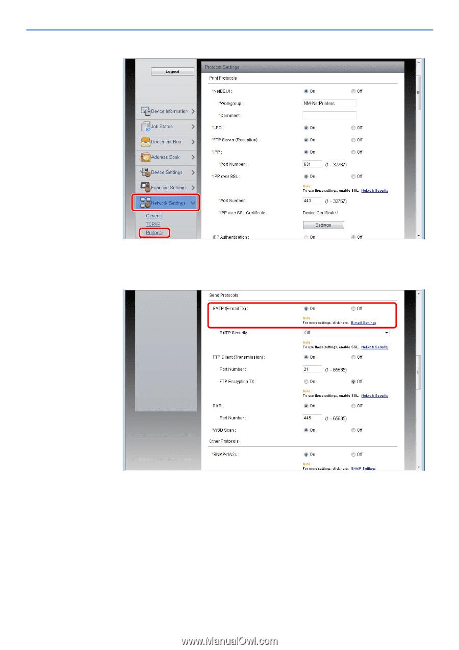 Kyocera ECOSYS M3550idn | ECOSYS M3040idn/M3540idn/M3550idn