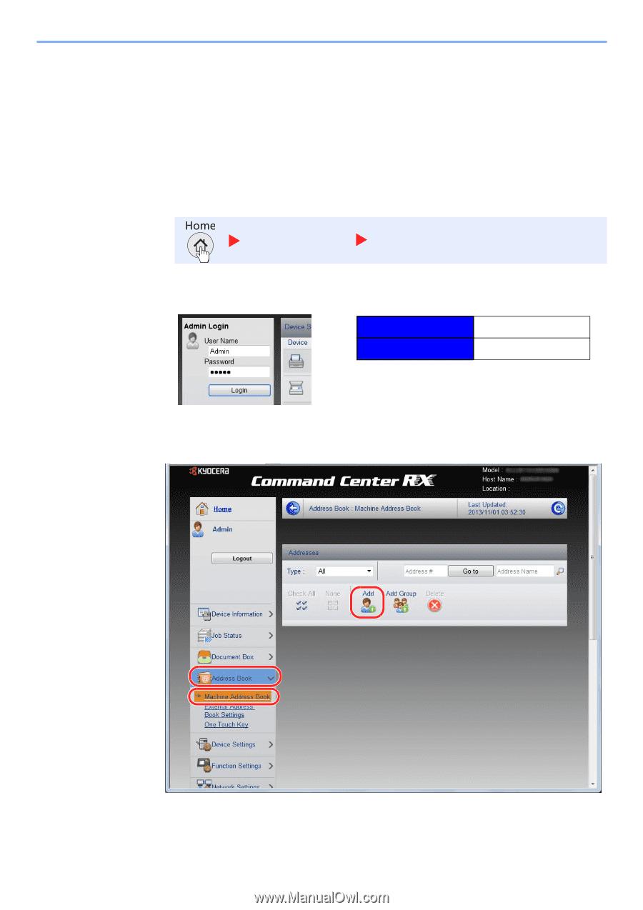 Kyocera ECOSYS M3550idn | ECOSYS M3040idn/M3540idn/M3550idn/M3560idn