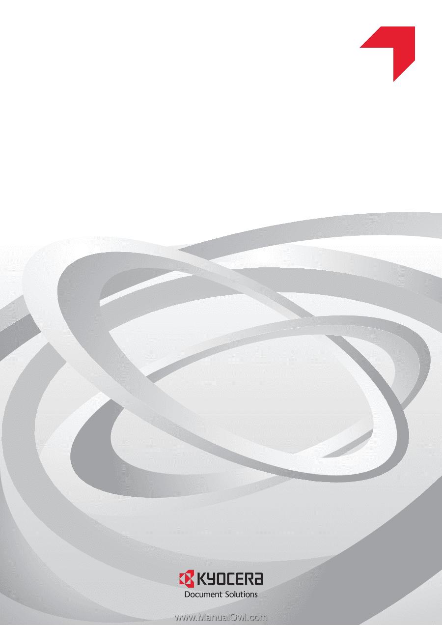 Kyocera TASKalfa 3552ci | Kyocera Net Viewer Operation Guide Rev 5 5