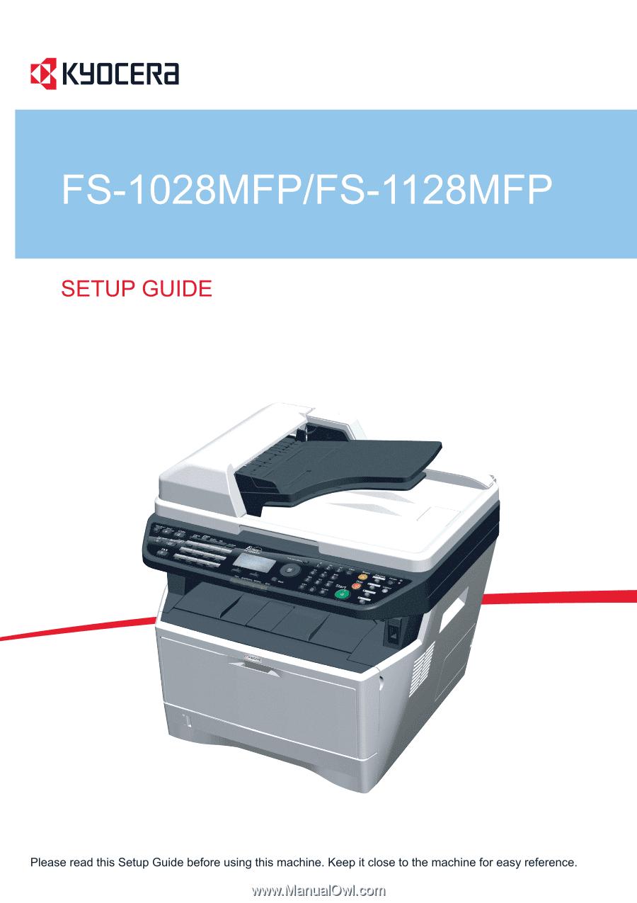 kyocera fs 1128 1028 parts manual