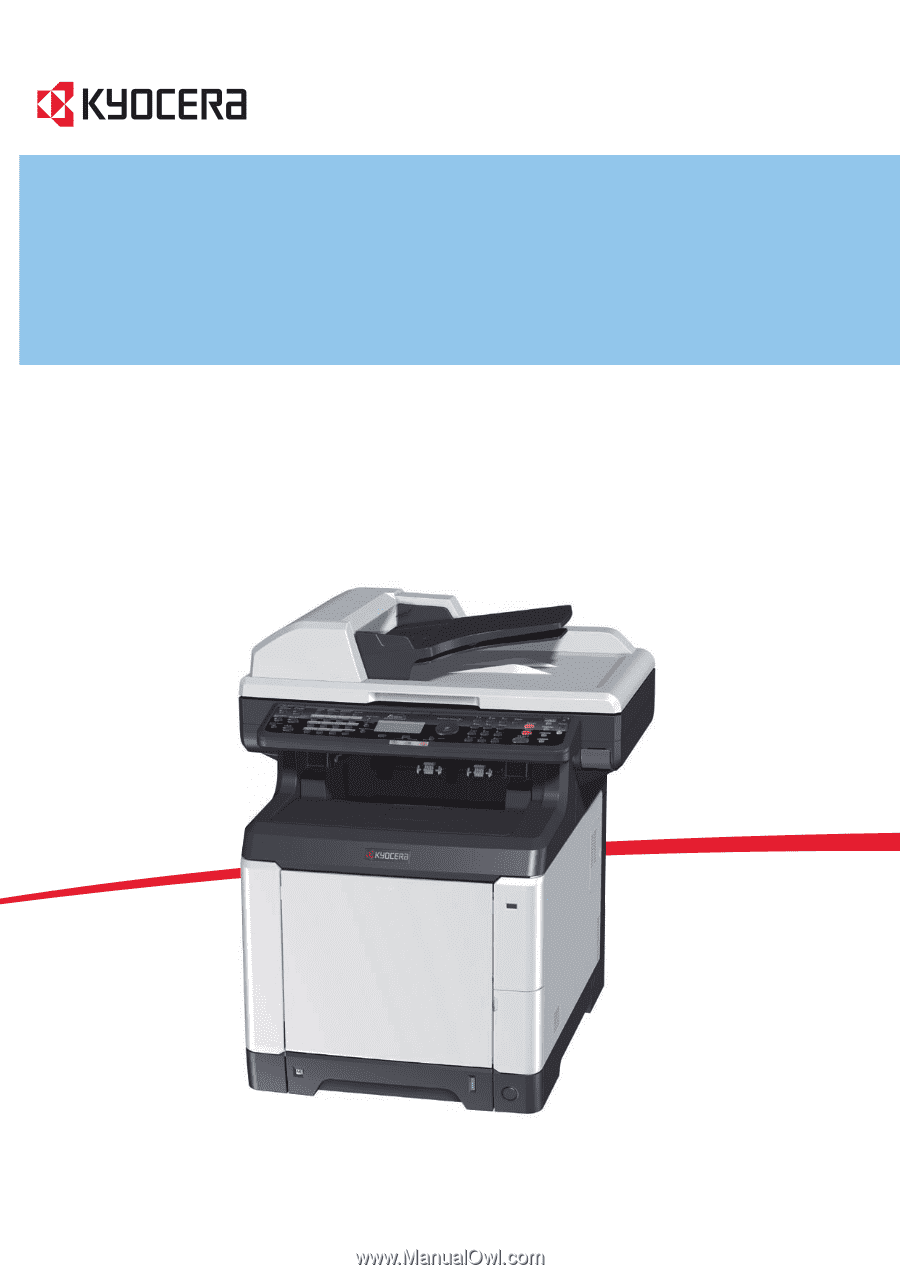 kyocera fsc2126mfp manual