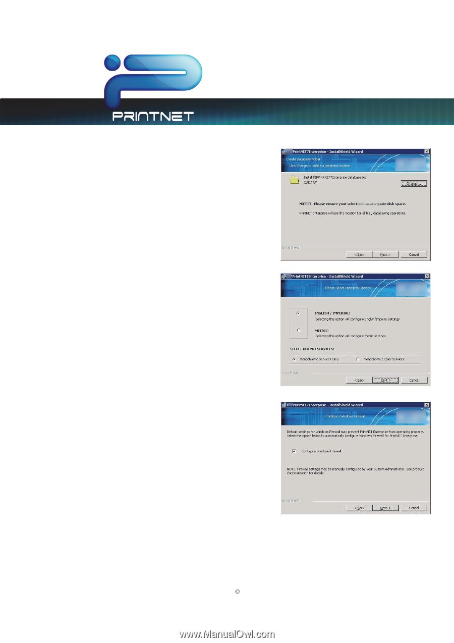 Kyocera TASKalfa 4820w | TASKalfa 2420w PrintNet Enterprise Admin