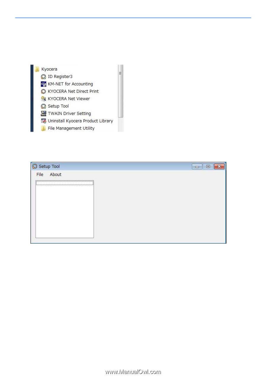 Kyocera TASKalfa 6551ci | Setup Tool Operation Guide Rev-1 - Page 7