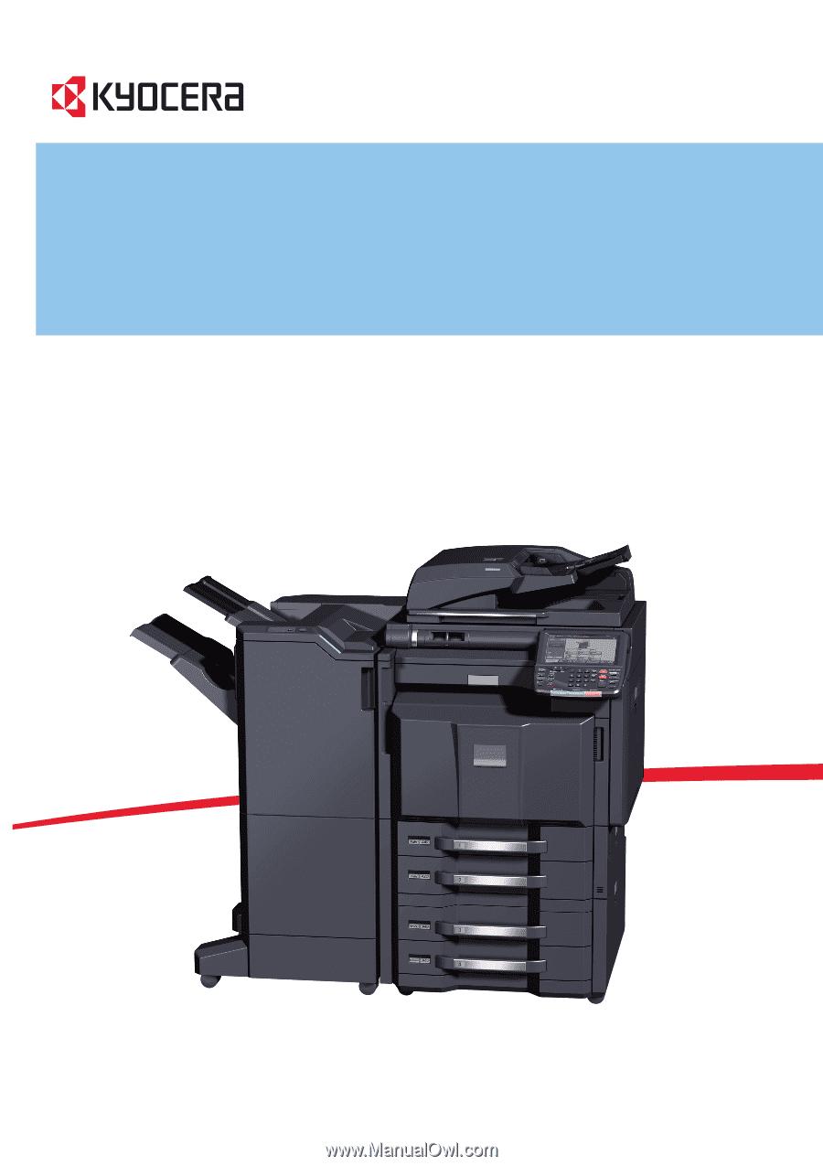 Kyocera TASKalfa 3500i | 3500i/4500i/5500i Operation Guide