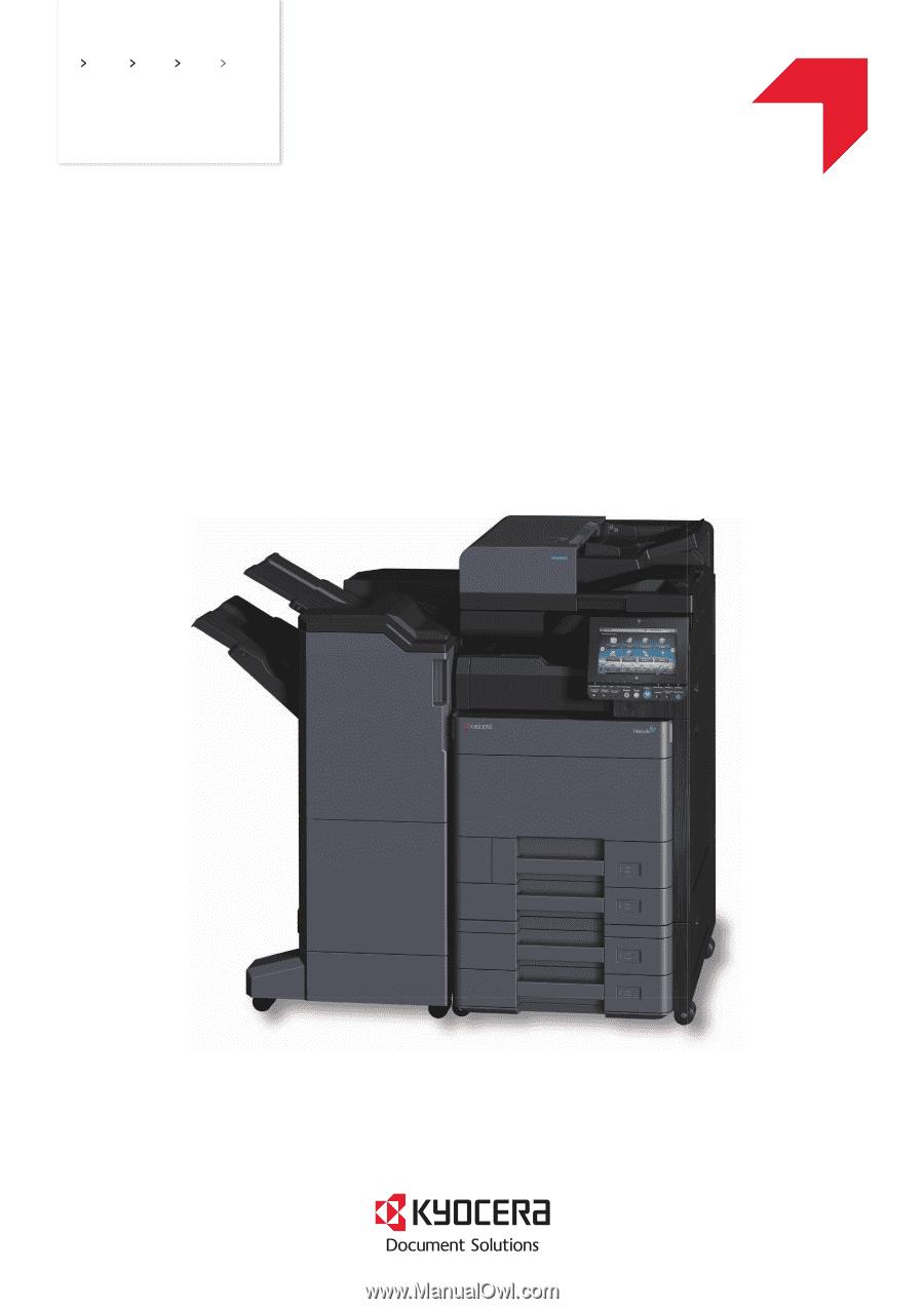 Kyocera TASKalfa 5002i | 4002i/5002i/6002i Operation Guide