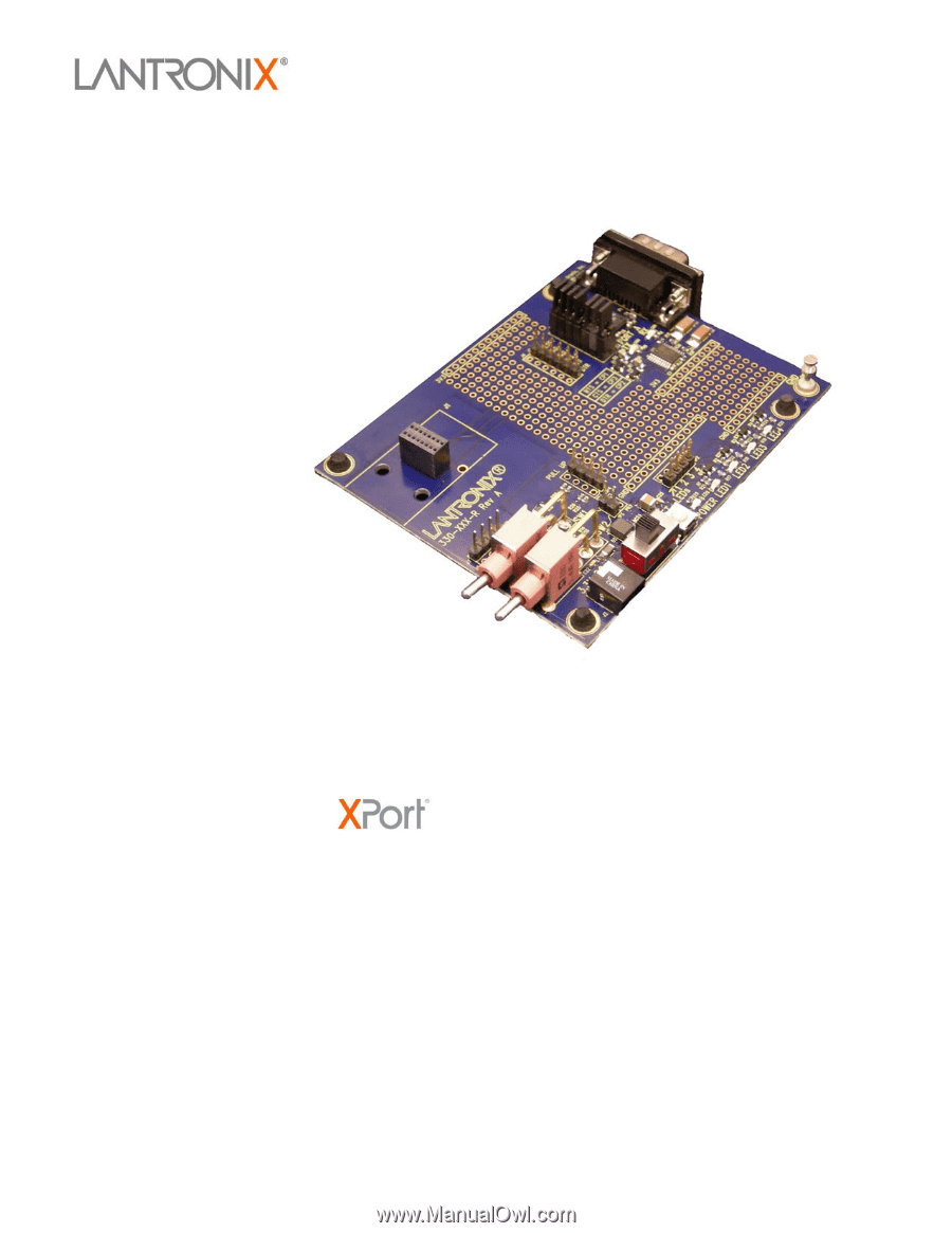 Lantronix Xport Pro Universal Demo Board User Guide Wiring Diagram