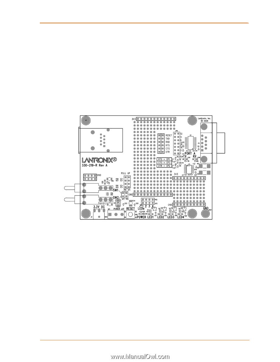 Lantronix Xport Pro Universal Demo Board User Guide Wiring Diagram 2 Demonstration Kit