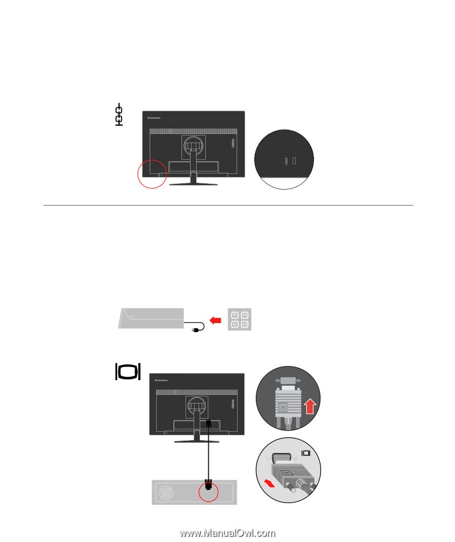 Lenovo ThinkVision T2254p 22inch LED | User Guide for