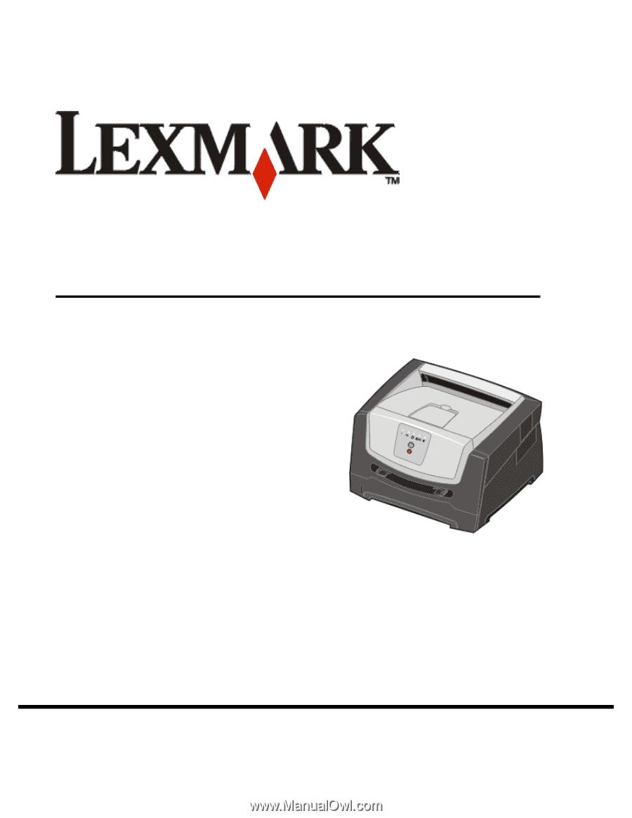 lexmark e250dn user s guide rh manualowl com Register Online User Registration